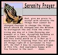Serenity prayer 12