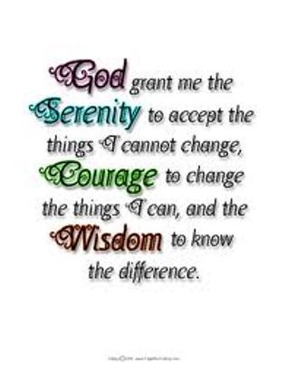 Serenity prayer, 13